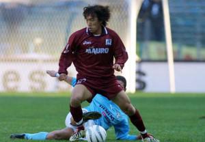 Shunsuke Nakamura of Reggina in action